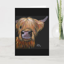 Highland Cow 'Henry' Greeting Card