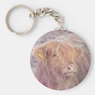 Highland Cow, Highland Cattle Keychain