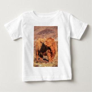 Highland Cow Infant Tee Shirt