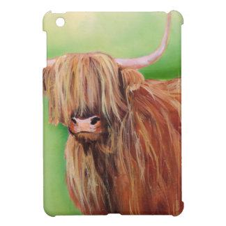 Highland cow iPad mini covers