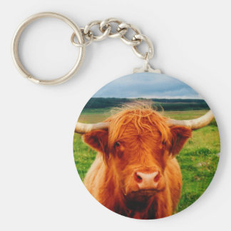 Highland Cow Key Chains