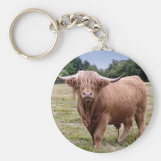 Highland Cow Keyring Keychain