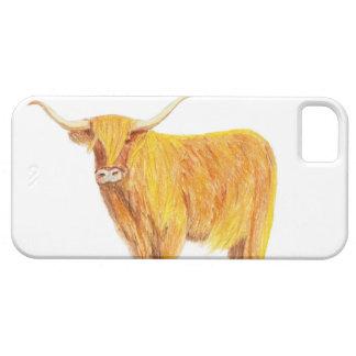 Highland cow phone case