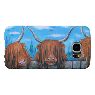 Highland cow phone cover! samsung galaxy s6 cases