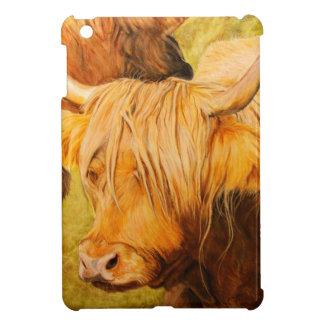 Highland cows, scottish cattle iPad mini cover