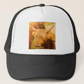 Highland cows, Scottish cattle. Trucker Hat