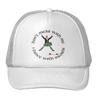 Highland Dance - Don't Mess with Me Trucker Hat