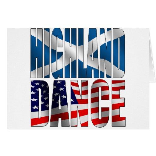 Highland Dance Greeting Card