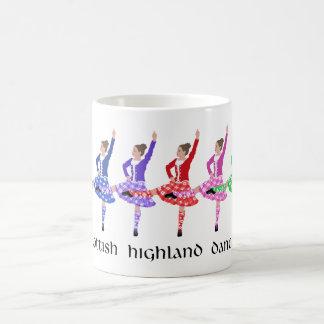 Highland Dance Line Coffee Mugs