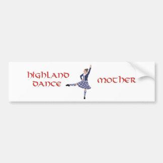 Highland Dance MOTHER Bumper Sticker
