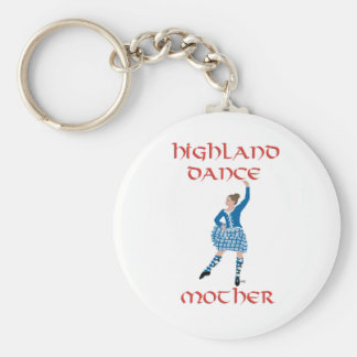Highland Dance Mother - Teal Keychain