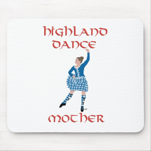 Highland Dance Mother - Teal Mouse Pad