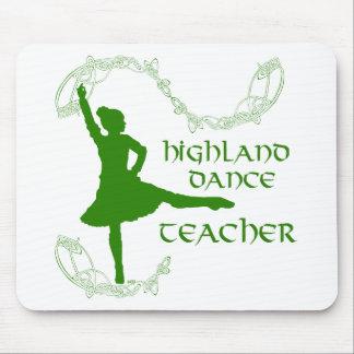 Highland Dance Teacher - Green Mousepad