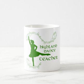 Highland Dance Teacher - Green Coffee Mugs