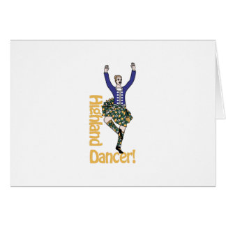 Highland Dancer1 Card