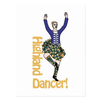 Highland Dancer1 Postcard