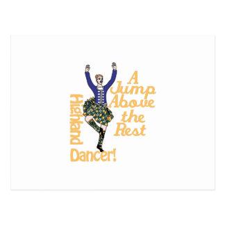 Highland Dancer2 Postcard