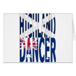Highland Dancer Australia Greeting Cards