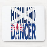 Highland Dancer Australia Mouse Pads