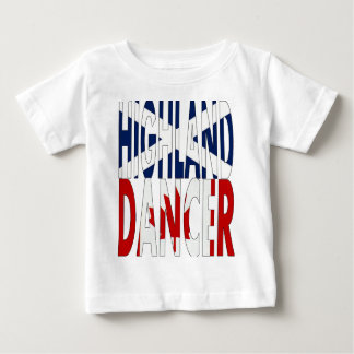Highland Dancer Canada Baby T-Shirt