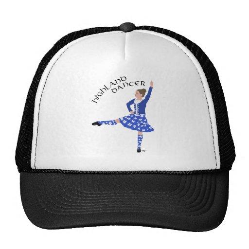 Highland Dancer in Blue Trucker Hats