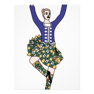 Highland Dancer Letterhead
