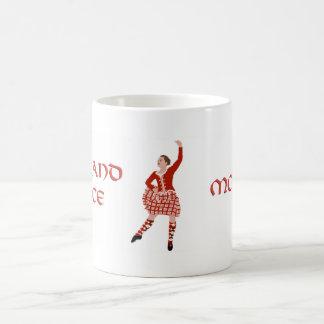 Highland Dancer Mother - Red Coffee Mug