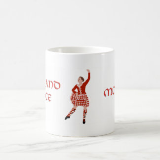 Highland Dancer Mother - Red Coffee Mugs