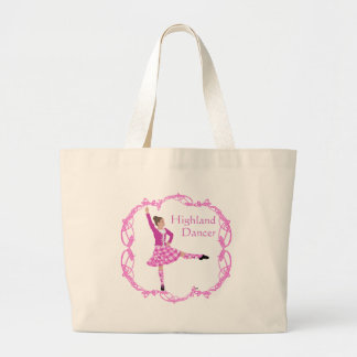 Highland Dancer Pink Aboyne Canvas Bags