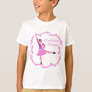 Highland Dancer Pink Aboyne T-Shirt