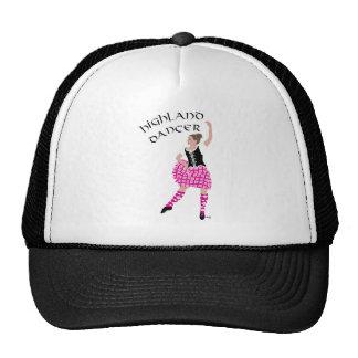 Highland Dancer Pink Trucker Hat