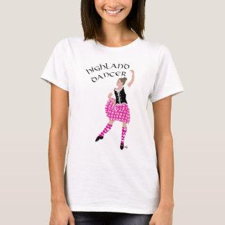 Highland Dancer Pink T-Shirt