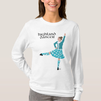 Highland Dancer Turquoise T-Shirt