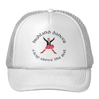 Highland Dancers a Leap Above the Rest Trucker Hat