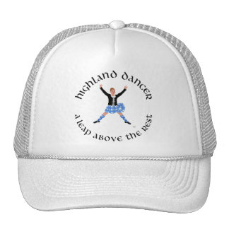 Highland Dancers - a Leap Above the Rest Trucker Hat