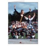 Highland Dancing Greeting Card