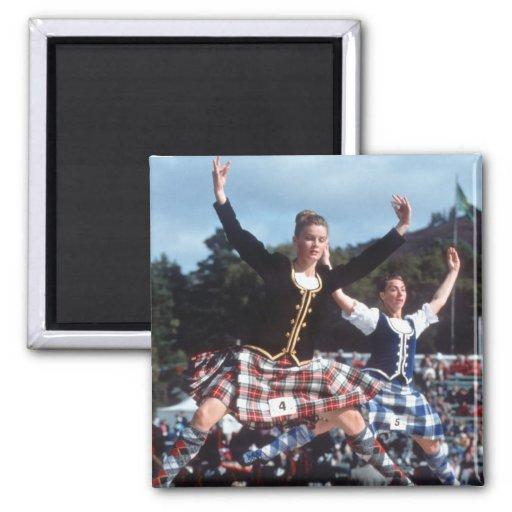 Highland Dancing Magnet