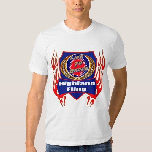 Highland Fling Dance Wear T-shirts