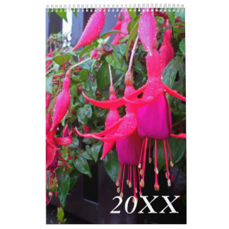 Highland Flowers Photography Calendar