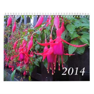 Highland Flowers Photography Calendar 2014