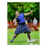 highland games scotland posters