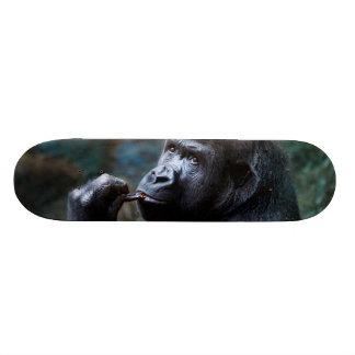 Highland Gorilla - Picking Teeth Skateboard Deck