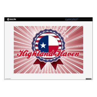 Highland Haven TX Laptop Skin