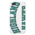 Highland Hawks Covers For iPhone 5
