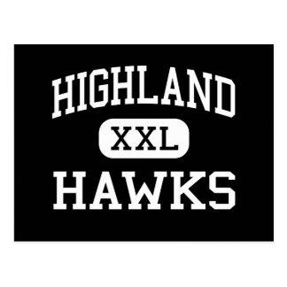 Highland - Hawks - High School - Gilbert Arizona Postcard