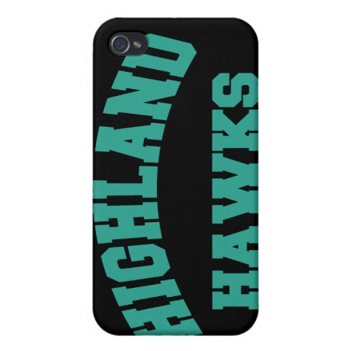 Highland Hawks iPhone 4/4S Case