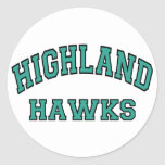 Highland Hawks Sticker