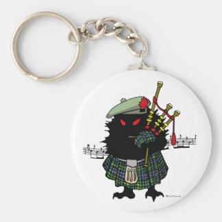 Highland Hedgehog Piper Keychains