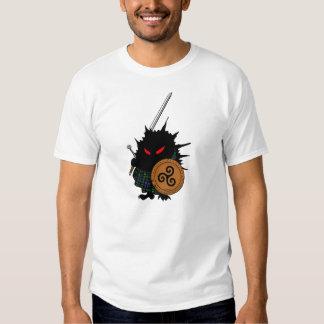 Highland Hedgehog with Claymore Sword Tee Shirt