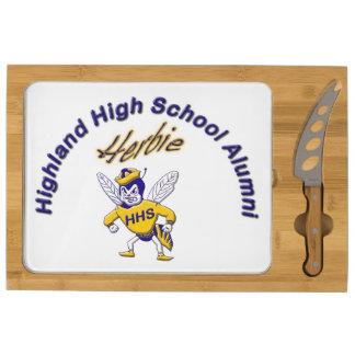 Highland High School Alumni Cheese Board